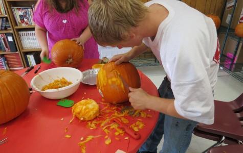 Nichole's Pumpkin Carving