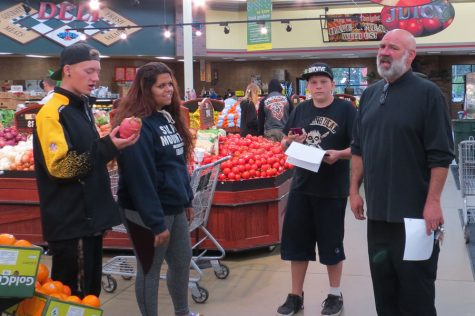 Shopping with Chef Rand