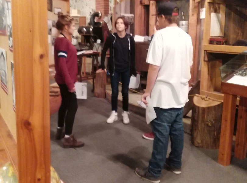 US History Class Visits the Museum of North Idaho in Coeur D' Alene.