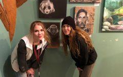 Students Display artwork at POAC Winter Market