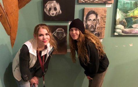 Students Display artwork at POAC Winter Market